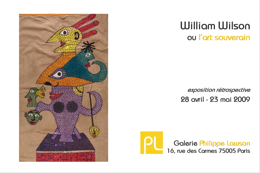voir William Wilson ou l'art souverain